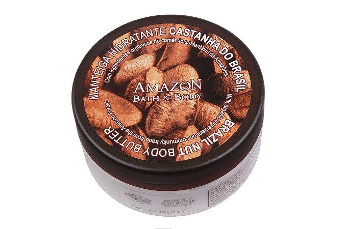 Manteiga hidratante corporal vegana e natural Arte dos Aromas - Castanha 196g
