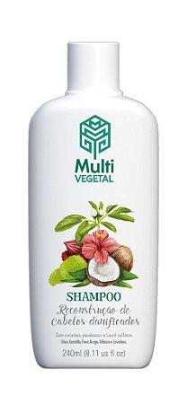 Shampoo vegano Multi Vegetal - Côco 240ml