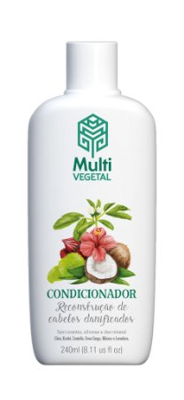 Condicionador vegano Multi Vegetal - Côco 240ml