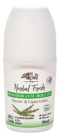 Desodorante vegano e natural Arte dos Aromas - Alecrim & Capim 50ml