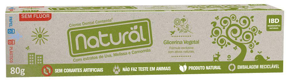 Creme dental vegano, orgânico e natural Suavetex 80g