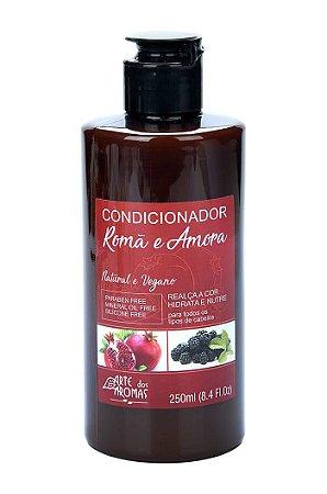 Condicionador vegano e natural Arte dos Aromas - Romã e Amora 250ml