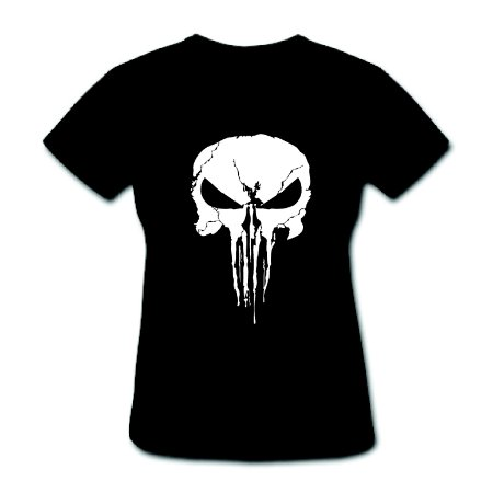 Camiseta Baby Look - The Punisher - 100% Algodão
