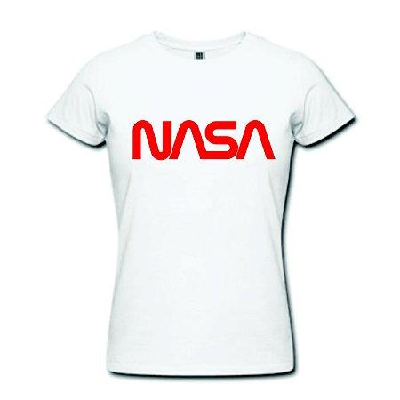 Camiseta Baby Look - Nasa - 100% Algodão