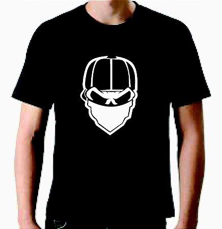 Camiseta Skull Gang - 100% Algodão