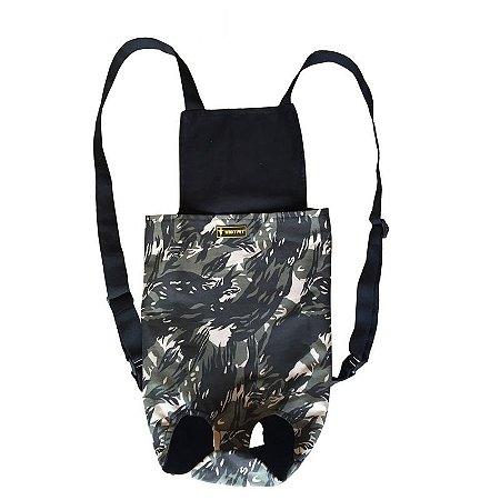 Bolsa canguru - Military
