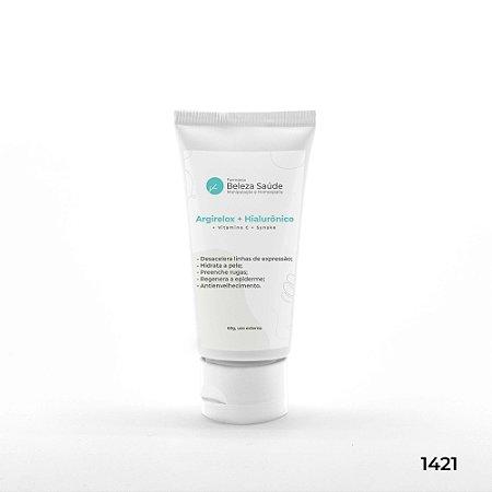 Argirelox + Hialurônico + Vitamina C + Synake - Olivem 30ml - 60g