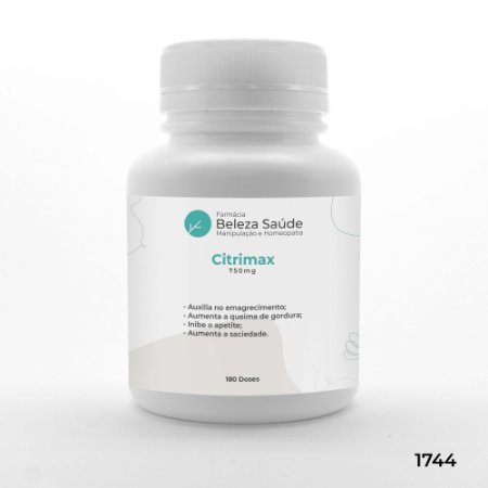 Citrimax 750mg - 180 doses