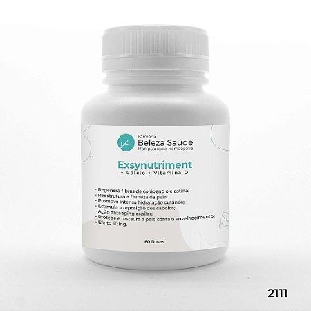 Exsynutriment + Cálcio + Vitamina D - Anti Envelhecimento - 60 doses