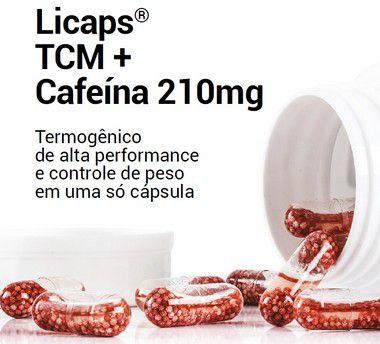 Licaps©TCM+Cafeína - 120 doses