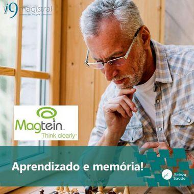 Magtein 250mg - Original Chemyunion Magnésio Treonato : Saúde do Cérebro - 90 doses