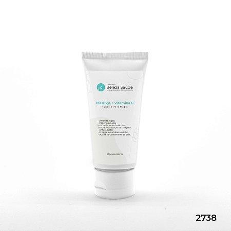 Matrixyl + Vitamina C - Rugas e Pele Macia - 50g