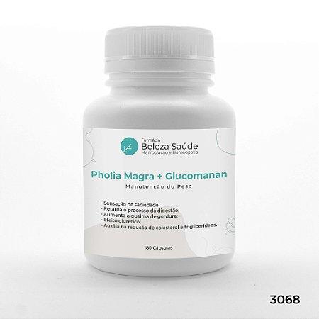 Pholia Magra + Glucomanan - Manutenção do peso - 180 Cápsulas