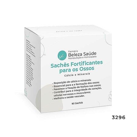 Sachês Fortificantes para os Ossos - Cálcio e Minerais - 90 Sachês
