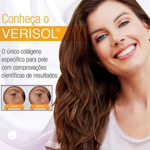 Colágeno Verisol 2,5g - Combate Rugas e Flacidez