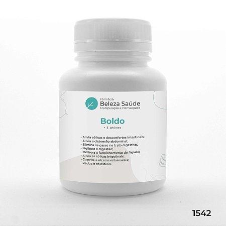 Boldo + 3 Ativos - Cólicas e Desconfortos Abdominais