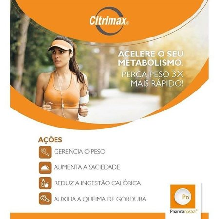 Citrimax 750mg + Relora 250mg