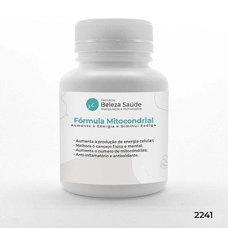 Fórmula Mitocondrial - Aumenta a  Energia e Diminui Fadiga