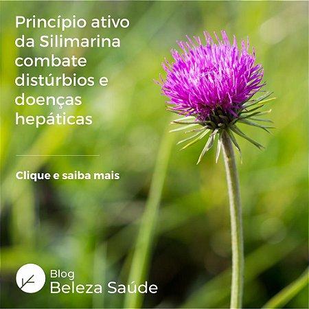 Composto Detox em Cápsulas com Silimarina e Alcachofra
