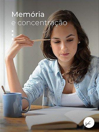 Cafeína + Teanina + Rhodiola Rosea -  Memória e Aprendizado