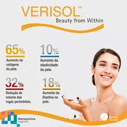 Verisol 2,5g + Dmae - Rugas e Firmeza da Pele