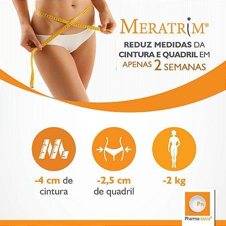 Meratrim 400mg 60 Cápsulas + Saffrin 100mg 60 Cápsulas : 2 Produtos para Emagrecer com Saúde