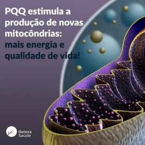 PQQ 20mg Prevenção de Cabelos Brancos