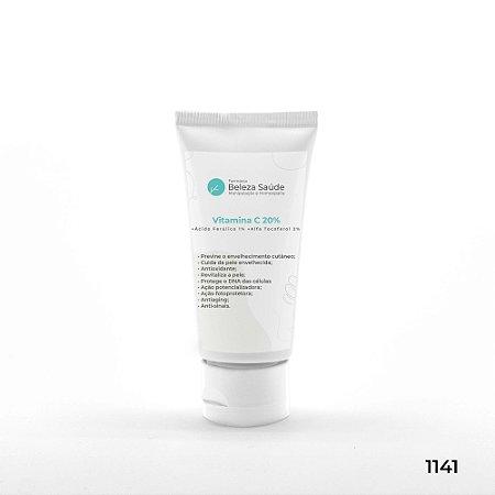 Vitamina C 20% + Ácido Ferúlico 1% + Alfa Tocoferol 2%