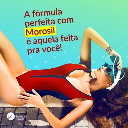 Morosil 500mg + Dimpless 40mg - Redutor de Celulite
