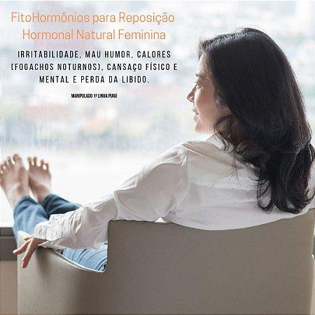 Fito Hormônio para Reposição Hormonal Natural Feminina