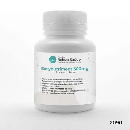 Exsynutriment 300mg + Bio Arct 150mg  :  Rugas, Flacidez e Envelhecimento Precoce