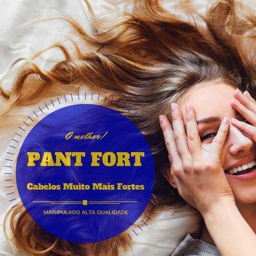 Pantofort Hair Plus : Mais Forte que Pantogar -  Tratamento para Queda e Fortalecimento dos Cabelos