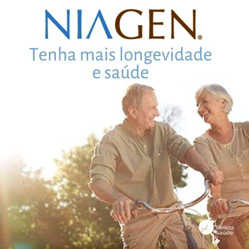 Niagen 50mg - Booster mitocondrial Anti Envelhecimento