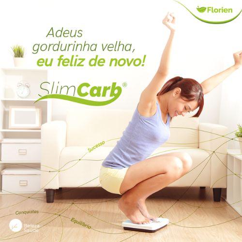 SlimCarb 200mg - Emagrecedor Bloqueador de Absorção de Gordura e Carboidrato