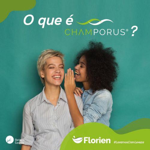 Champorus 250mg - Inibidor Odores Corporais, das Fezes e do Mau Hálito