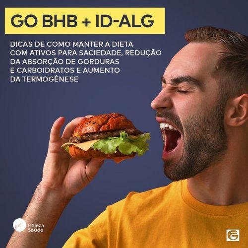 GO-BHB 3gr + ID-ALG 400mg : Sensação de Saciedade sem Perder Energia