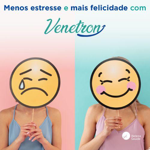 Venetron 25mg : Mais Felicidade, Menos TPM Insônia Stress