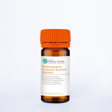 Homeopatia Criança Dormir Melhor : Glóbulos 15g
