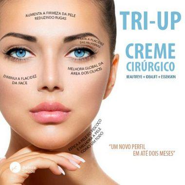 Tri Up Creme Cirúrgico tri-up - Auxilio na Firmeza de Pele - 90 gramas