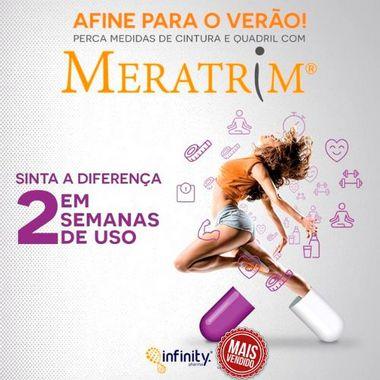 Meratrim 400mg : Modulador Corporal, Redução da Gordura Visceral - 120 doses