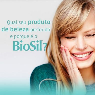 BioSil 520mg Silício Orgânico - Pele e Unhas - 60 doses