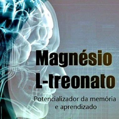 Magnésio L Treonato 450mg - 300 doses