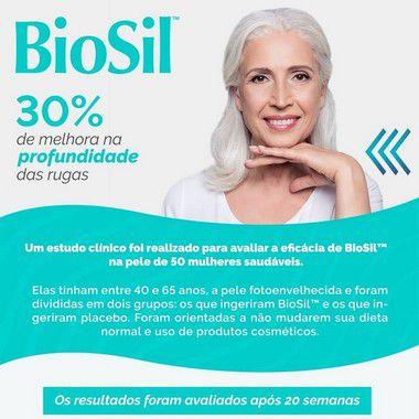 BioSil 300mg Tratamento da Pele e Cabelos e Unhas - 60 doses