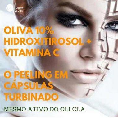 Hidroxitirosol + Vitamina C - Combate Manchas no Rosto - 60 doses
