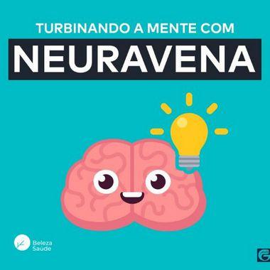Neuravena + Magnésio + 3 Ativos - Concentração e Memória - 60 doses