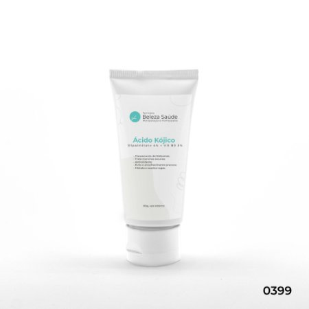 Ácido Kójico Dipalmitato 4% + Vit B3 3% - Manchas e Rugas - 60g