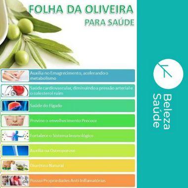 Extrato De Oliveira 500mg - Perda de Peso - 130 doses