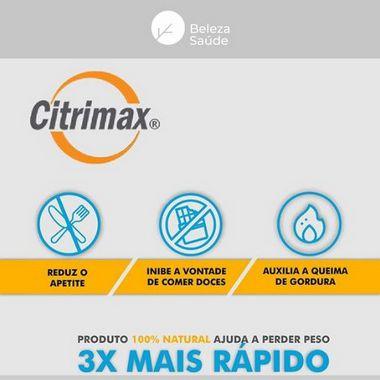 Citrimax + Lactob Gasseri : Probiótico Controle da Fome - 60 doses