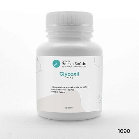 Glycoxil 100mg Antienvelhecimento e Diminui Rugas - 60 doses