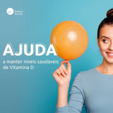 Vitamina D3 1.000ui : 240 Cápsulas
